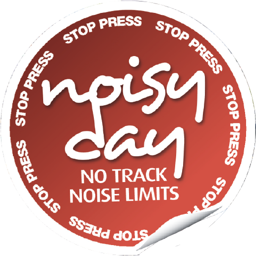 Noisy day!