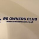RS Owners Club Window Sticker