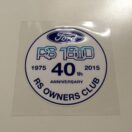 40th Anniversary RS1800 Sticker