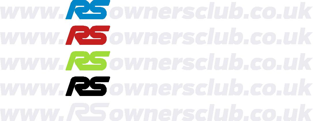 """RSOC """"www.rsownersclub.co.uk"""" Sticker"""