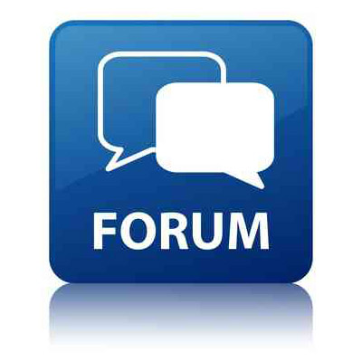 how to quickly make a website with forums