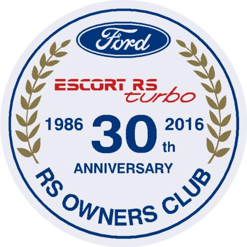 Series 2 30th Anniversary Sticker