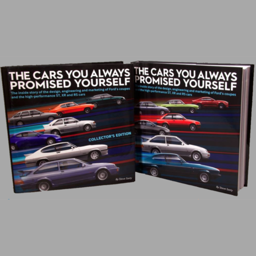 The Cars You Always Promised Yourself – Steve Saxty