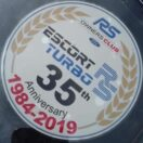 MK3 Escort RS Turbo 35th Anniversary Sticker